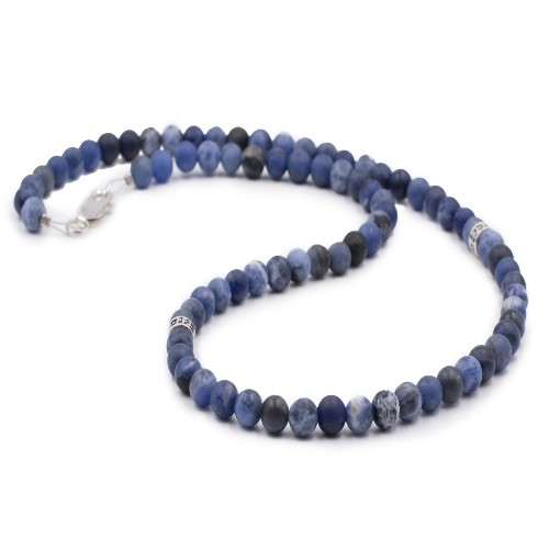Collier homme PPJ deep blue